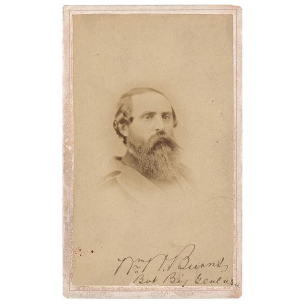 William Burns Signed Photograph