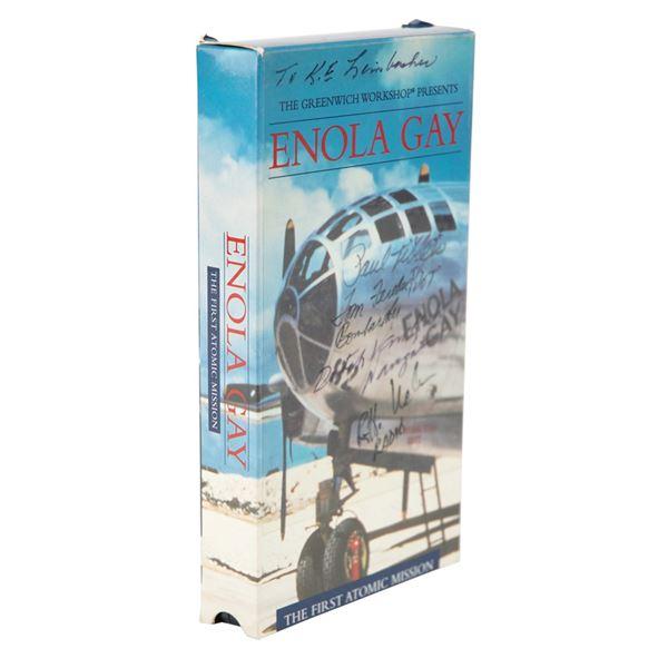 Enola Gay Signed VHS Tape