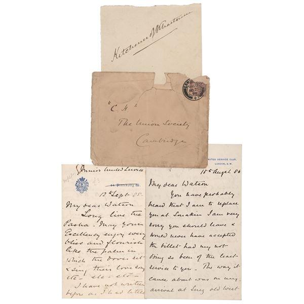 Herbert Kitchener (3) Signed Items