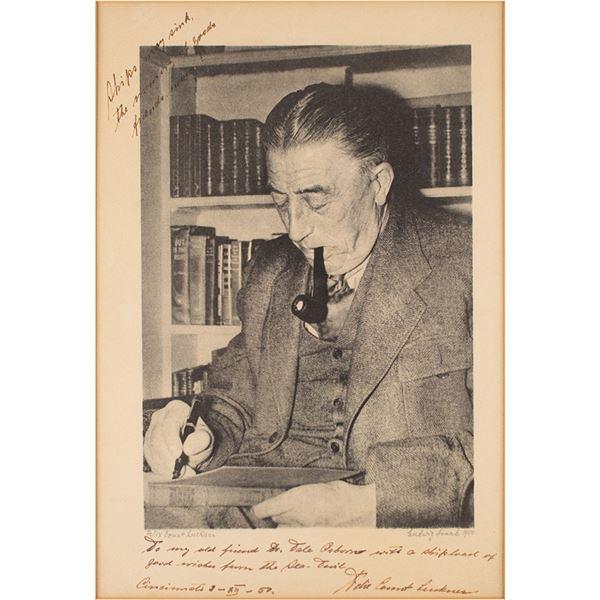 Felix von Luckner Signed Photograph