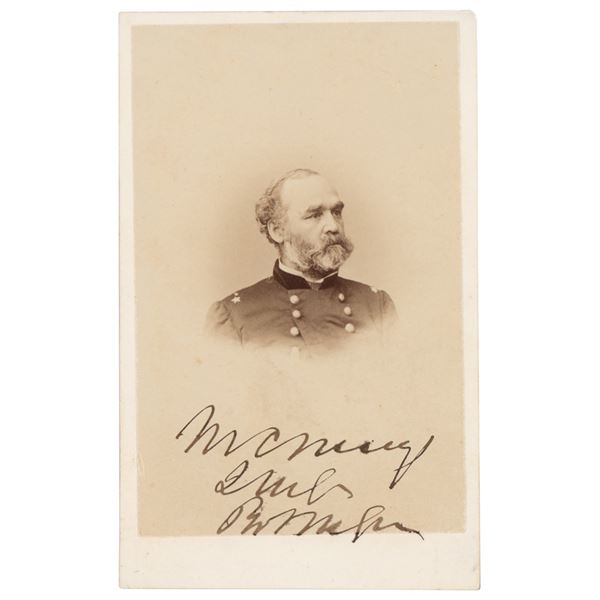 Montgomery Meigs Signed Photograph