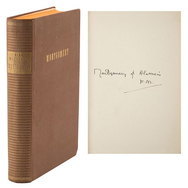 Montgomery of Alamein Signed Book