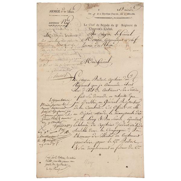 Michel Ney Autograph Endorsement Signed