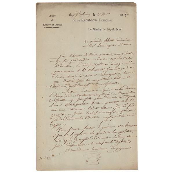 Michel Ney Autograph Letter Signed