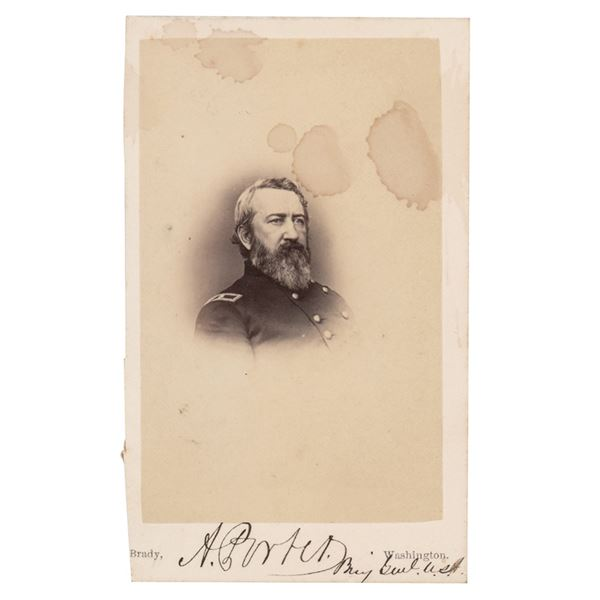 Andrew Porter Signed Photograph