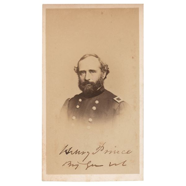 Henry Prince Signed Photograph