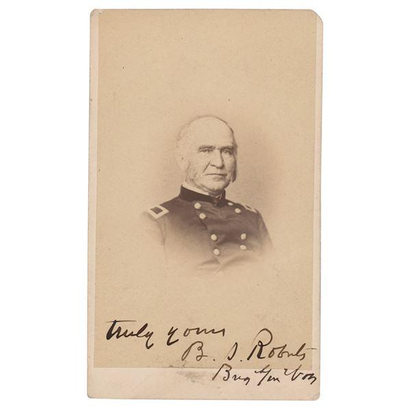 Benjamin Roberts Signed Photograph