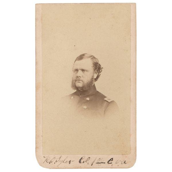 Robert O. Tyler Signed Photograph