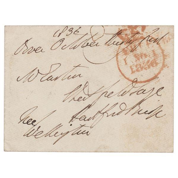 Duke of Wellington Signed Free Frank