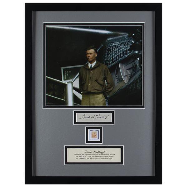 Charles Lindbergh Signature