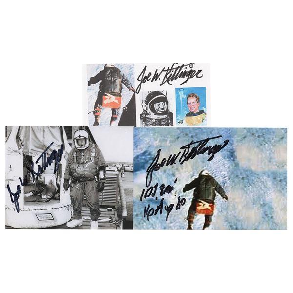 Joe Kittinger (3) Signed Items