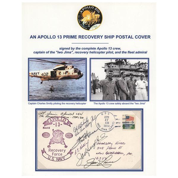Apollo 13 Signed Prime Recovery Ship Cover