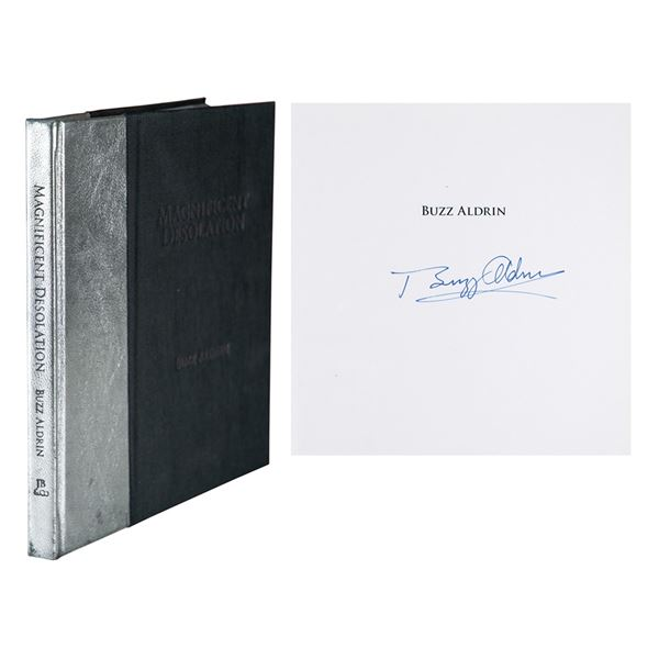 Buzz Aldrin Signed Book