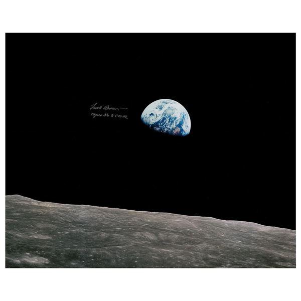 Frank Borman Signed Oversized Photograph