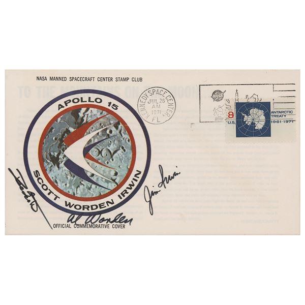 Al Worden's Apollo 15 Insurance Cover