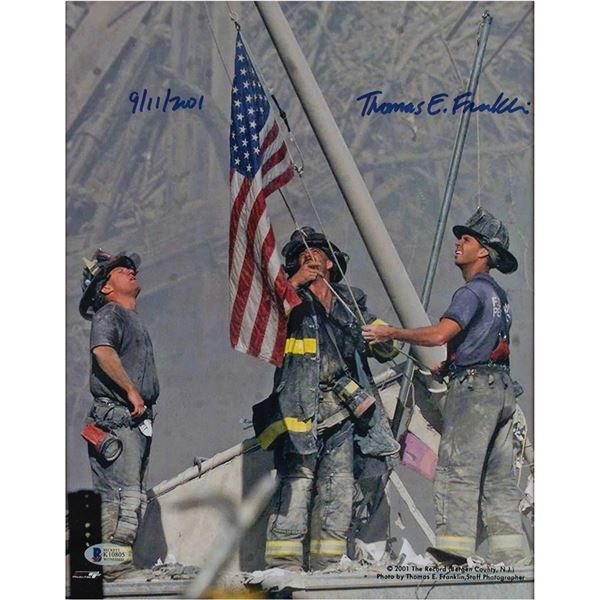 911: Thomas E. Franklin Signed Photograph