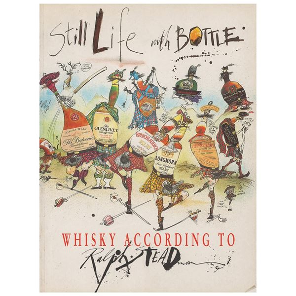 Ralph Steadman Signed Book with Sketch
