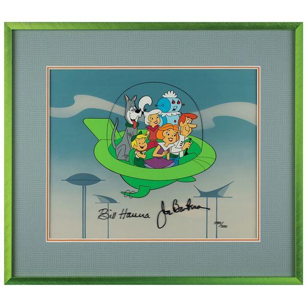Bill Hanna and Joe Barbera Signed Limited Edition Cel