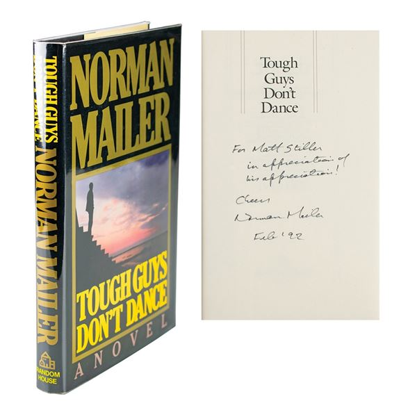 Norman Mailer Signed Book and Photograph
