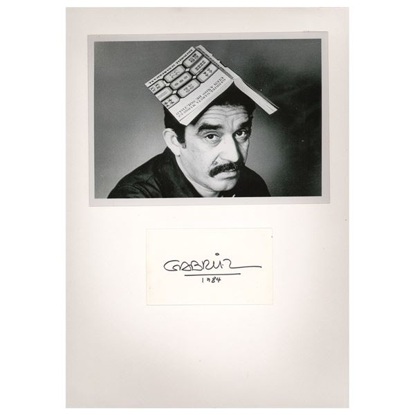 Gabriel García Márquez Signature