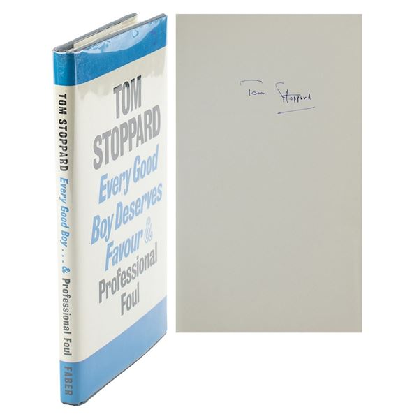 Tom Stoppard Signed Book