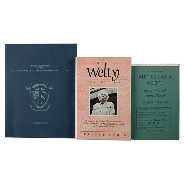 Eudora Welty Signed Book and Program