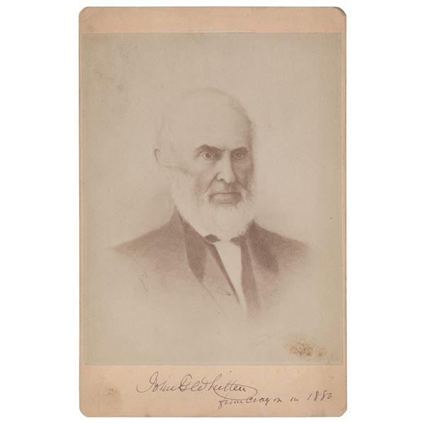 John Greenleaf Whittier Signed Photograph