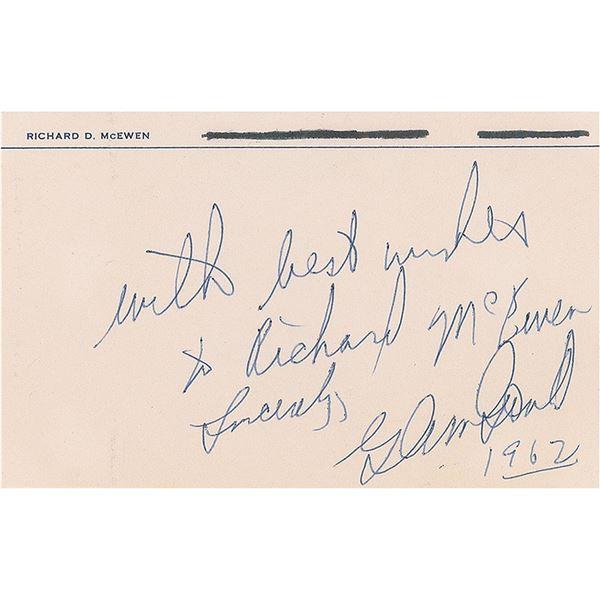 Glenn Gould Signature