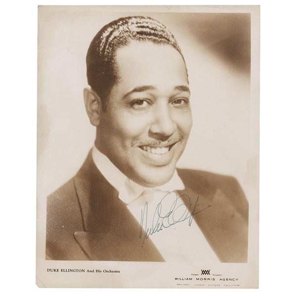 Duke Ellington Signed Photograph