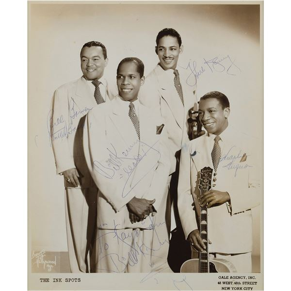 The Ink Spots Signed Photograph