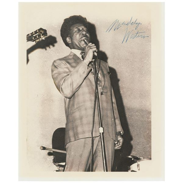 Muddy Waters Signed Photograph