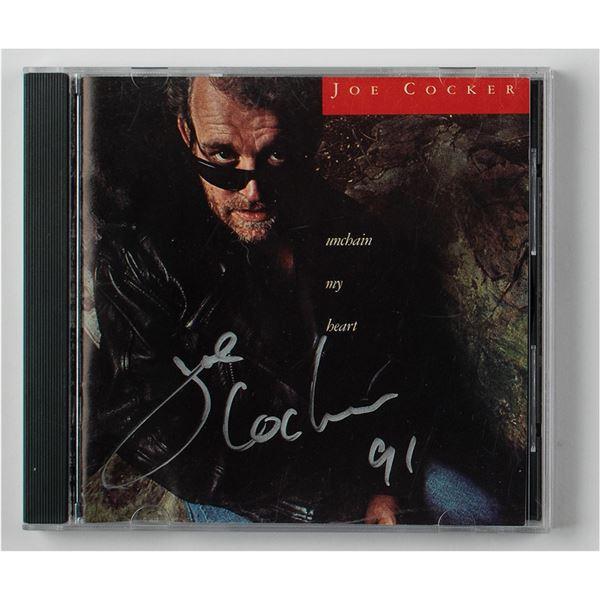 Joe Cocker Signed CD