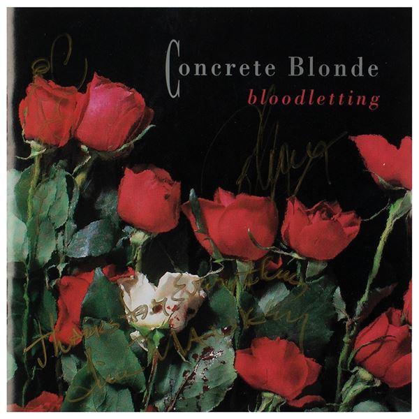 Concrete Blonde Signed CD