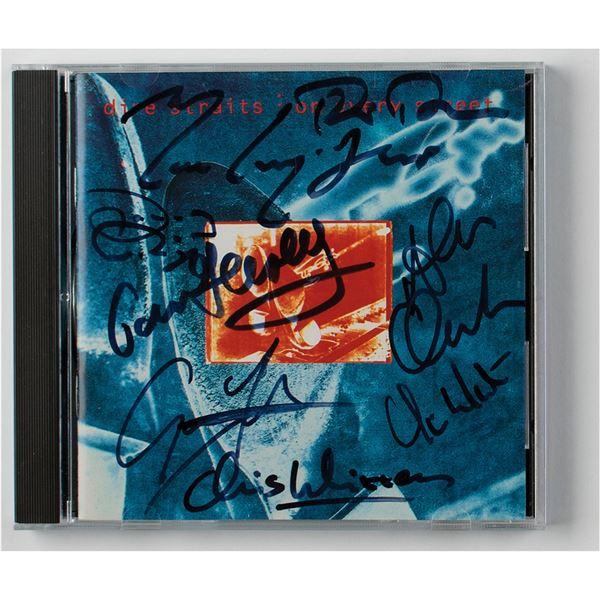 Dire Straits Signed CD