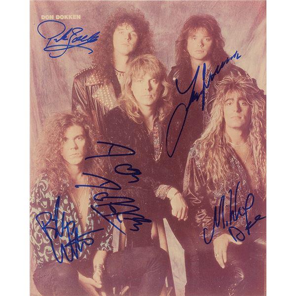 Dokken Signed Photograph