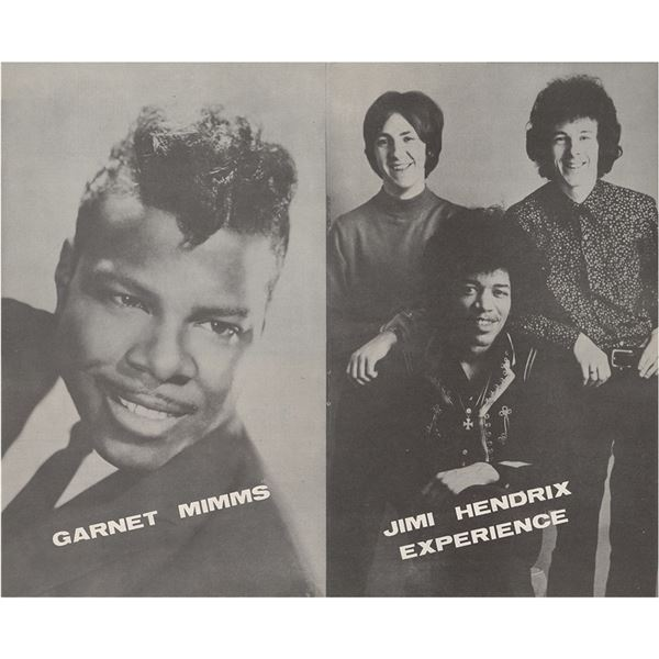 Jimi Hendrix Experience 1967 Saville Theatre Program