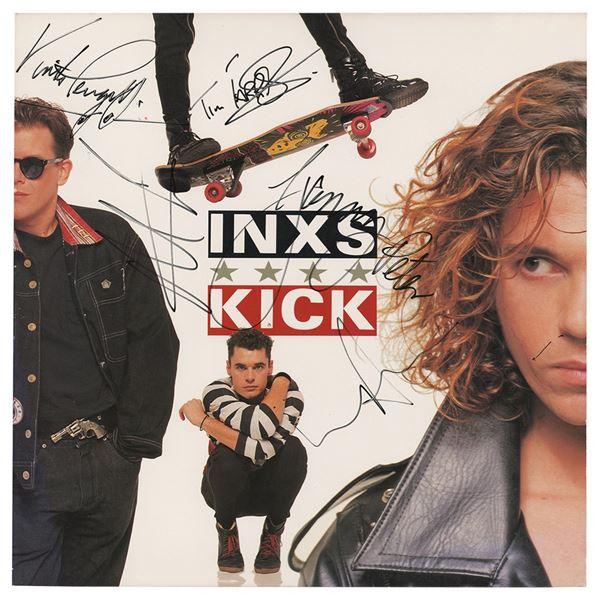 INXS Signed Album