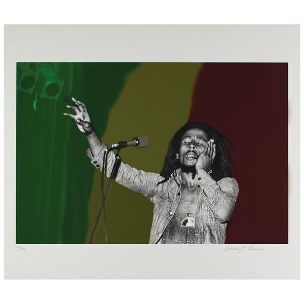Bob Marley Print by Richard E. Aaron