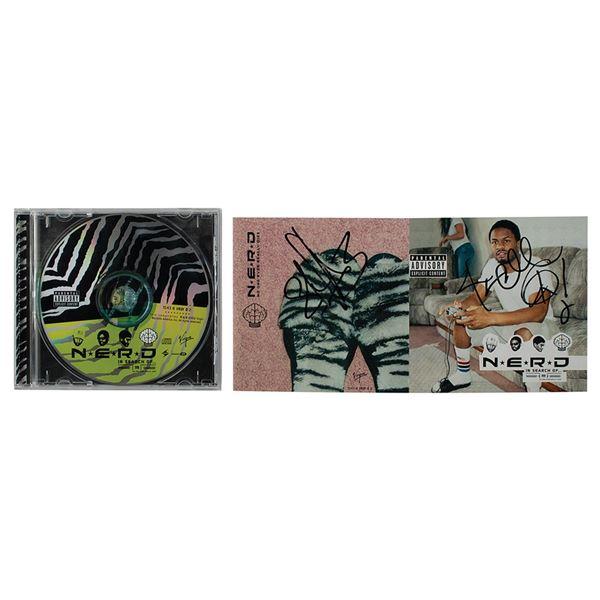 N.E.R.D. Signed CD