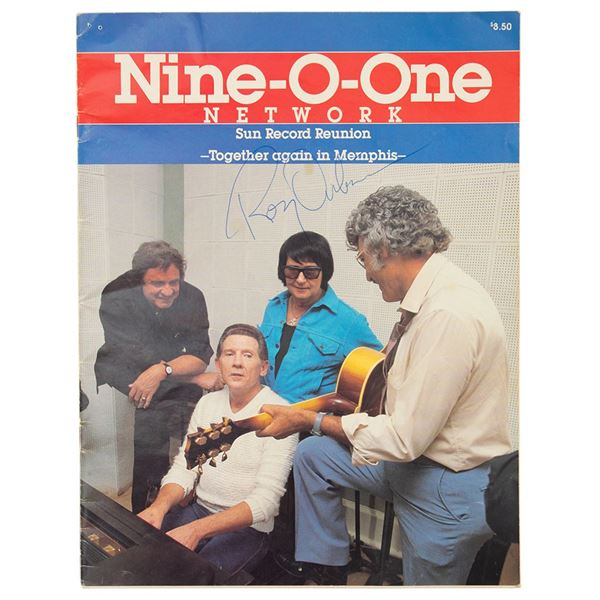 Roy Orbison Twice-Signed Program