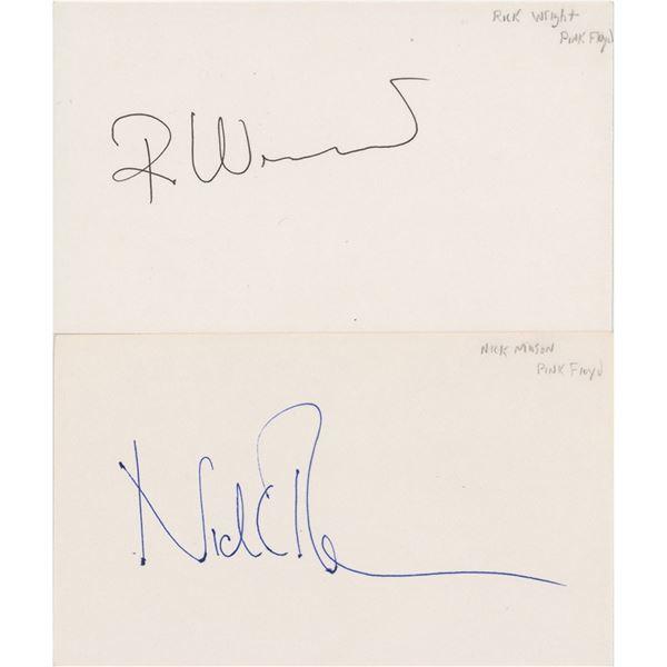 Pink Floyd: Mason and Wright Signatures