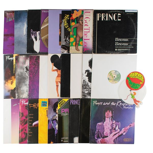 Prince Collection of (28) Single Albums