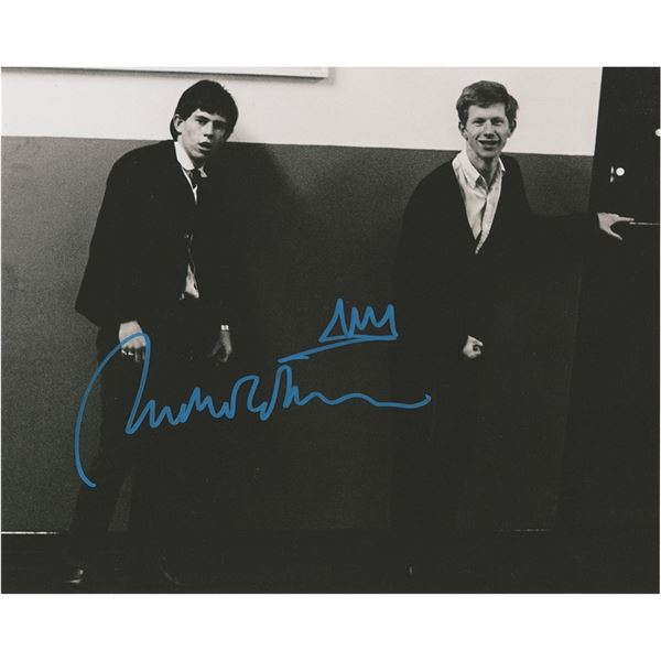 Rolling Stones: Andrew Loog Oldham (2) Signed Photographs