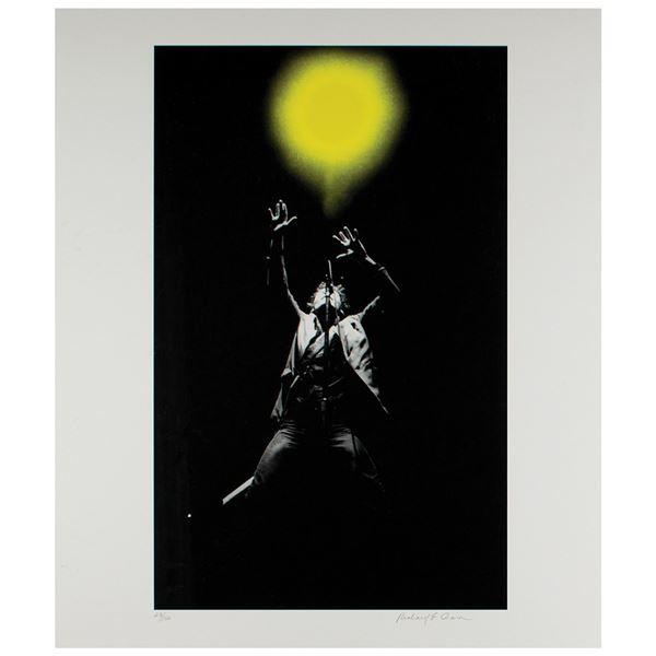 Bruce Springsteen Print by Richard E. Aaron