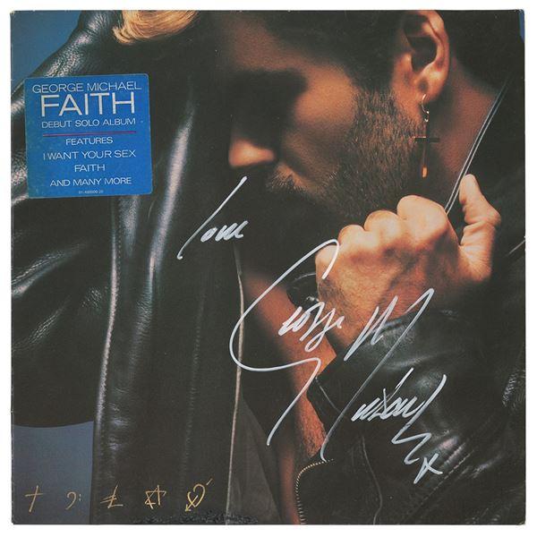 George Michael Signed Album
