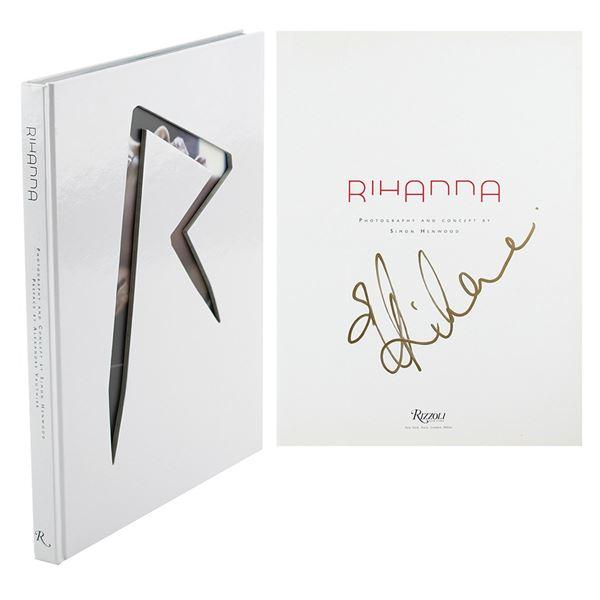 Rihanna Signed Book