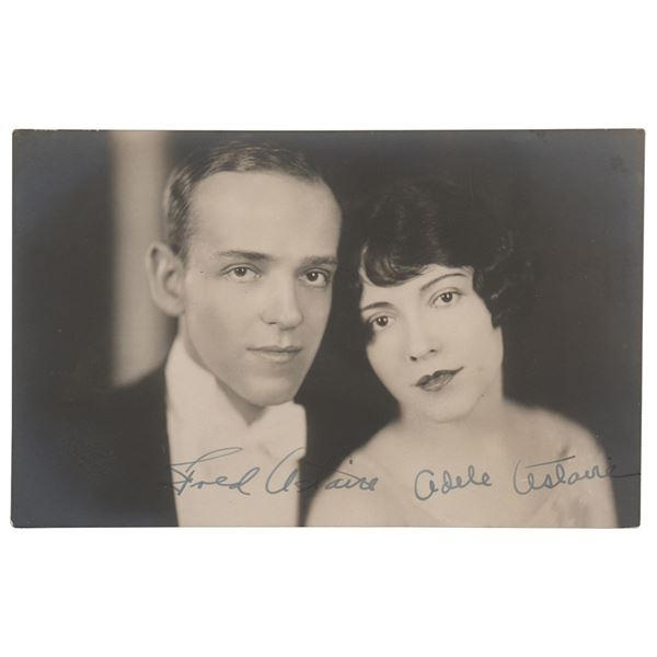 Fred and Adele Astaire Signed Photograph