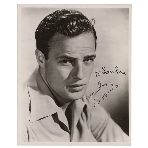 Marlon Brando Signed Photograph
