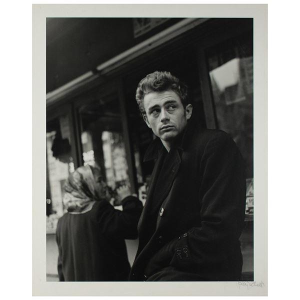James Dean Original Photograph by Roy Schatt
