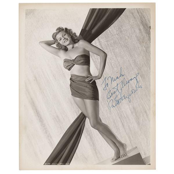 Rita Hayworth Signed Photograph